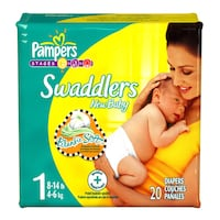 Pampers Swaddlers Diapers- ANY SIZE!