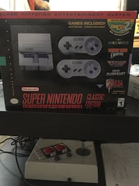 Nes and snes classic edition Toronto, M9M 1Z9