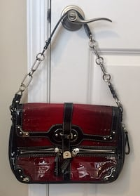 Rafe – Red And Black Chained Handbag South Brunswick Township