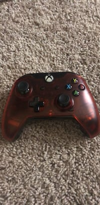 red Xbox One wireless controller Manassas, 20109