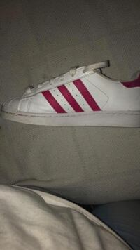 Adidas Pink and white