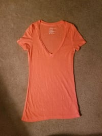Coral American eagle tee size xs