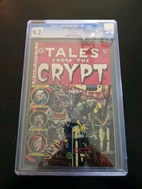Tales from the crypt #1 comic cgc 9.2 Toronto, M2N 6S5