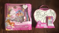 GREAT GIFT! Brand New Disney Princess Make Your Own Princess Story & Color N' Style Purse Activity Sets Vaughan, L6A 0C3