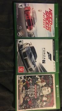 Xbox one games $75 for all Gilroy, 95020