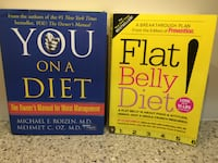 LOT OF 2 DIET BOOKS: You On A Diet (Dr Oz), Flat Belly Diet (Prevention) Granger