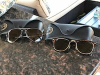 Ray ban Sunglasses (2 sets - Aviator and Clubmaster) Baton Rouge, 70816