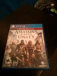 Assassin's Creed Unity PS4 game case Jurupa Valley