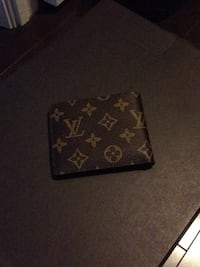 black and brown Louis Vuitton leather wallet Markham, L3R 9W1