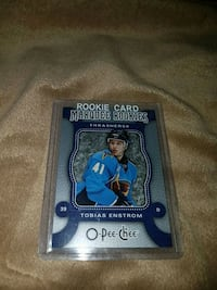 Thomas enstrom opc marquee rookie card