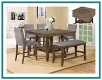5 PC Counter Height Dinette Missouri City