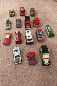 Assortment of matchbox cars $75-$100 in value!