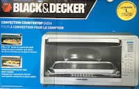 Black Decker Brand New never been used oven countertop NEGOTIABLE  2666 km