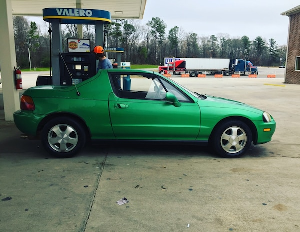 Used Honda Crx Crx Del Sol 1993 For Sale In Birmingham Letgo