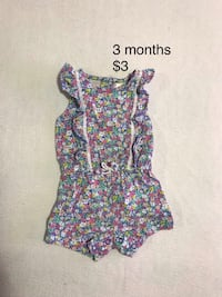 Carter's 3 month baby girl romper outfit St Thomas, N5R 6J1