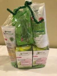 Garnier skin products bundle
