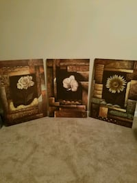 Set of Three Large Canvases Summerville, 29485