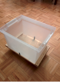 Dolly Cart Base for Plastic File Boxes   Toronto