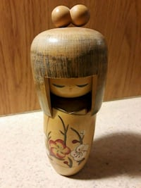 "Kokeshi Japanese wood doll 6"" Commerce City, 80022"