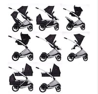 phil and teds double stroller (twins) Toronto, M6N 2E9