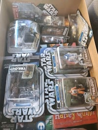 Star Wars toys still have packaged. 200 obo.i need to count how many.  North Las Vegas, 93065