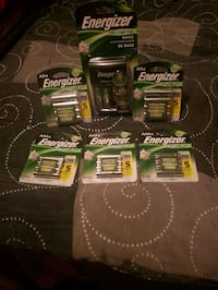 Energizer Rechargeable Batteries and Charger  Phoenix, 85053