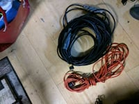 black and red coated cable Calgary, T2A 4T6