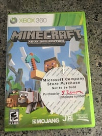Minecraft xbox 360 game  Surrey, V3S 2P3
