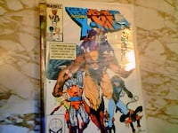 Marvel X-Men comic book London