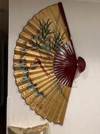 "Chinese paper fan-26"" diameter Kitchener, N2A 1B1"
