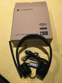 Logitech USB H570e Corded Double-Ear Headset  Toronto