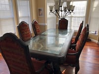 Baroque Italian Fine Dining Set With China Cabinet Laurel