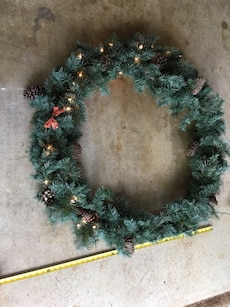 3' Christmas Wreath