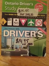 Brand New Drivers book and Ontario Driver Study Guide  Book Mississauga, L5M