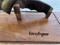Collector knife Kersa in display case Las Vegas, 89147