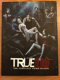 TrueBlood TV series complete Third season DVD London, N6B 2E6