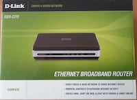 D-Link EBR-2310 WIRED Ethernet Broadband Router Grimsby