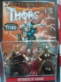 Marvel legends action figures thor & lady thor Brooklyn, 11233