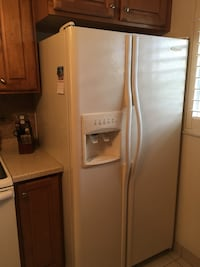 white side-by-side refrigerator with dispenser Cape Coral, 33904