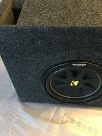"""10"""" sub in ported box selling for the price of the box akone Edmonton, T5Y 3W1"""