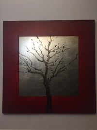 red and silver painting 로렐, 20723