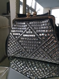Crystal rhinestone large handbag purse Toronto, M5H