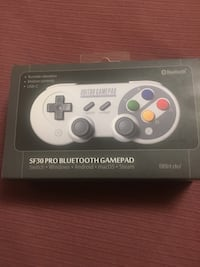 8BITDO SF30 PRO Bluetooth Gamepad controller works with Nintendo switch, windows, Android, MACOS and Steam East Gwillimbury, L3Y