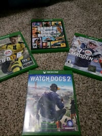 two Xbox One game cases Rockville, 20853