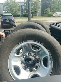 """Set of toyo tires on 16"""" rims (chevy - gmc) 8 bolt Barrie"""