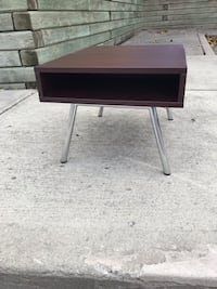 Brown and gray wooden table brand bew 540 km