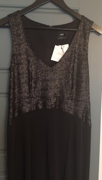 Maternity brand new sequin top evening gown - never worn tags still on Montréal, H8N