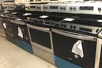 New whirlpool stainless steel glass top stove 10% off Reisterstown, 21136