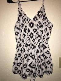 Black and white womens romper  Tucson, 85712