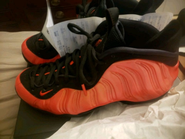 online store 2367a 1a6b4 Nike Air Foamposite One Habanero Red 10.5[$160 FIR
